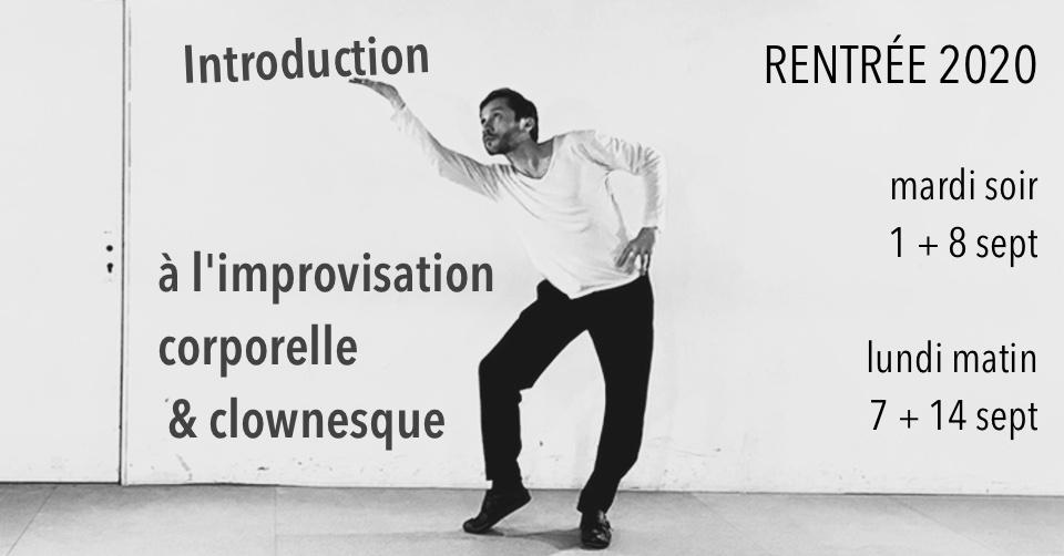 improvisation corporelle et clownesque avec Caspar Schjelbred / Impro Supreme